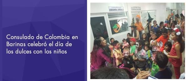 Consulado de Colombia en Barinas celebró el día de los dulces
